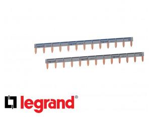 Peigne horizontal 13 modules phase + neutre Legrand HX³