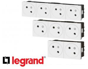 Bloc prise electrique Legrand Mosaic