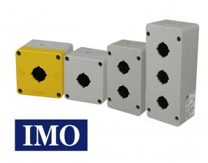 Boite à bouton pour boutonnerie IMO Ø22mm