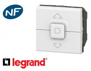 Poussoir de volet roulant Legrand Mosaic composable