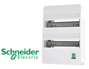Coffret nu 26 modules 2 rangées Schneider Resi9