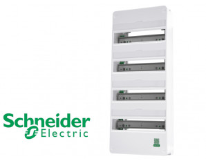 Coffret nu 52 modules 4 rangées Schneider Resi9