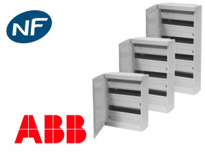 Coffret modulaire grande capacité avec porte opaque