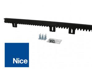 Crémaillère en nylon longueur 1m Nice