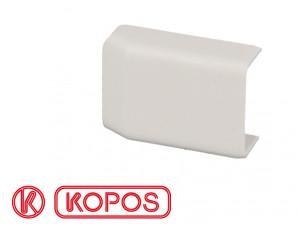 Embout pour moulure PVC blanche 32 x 15 mm KOPOS