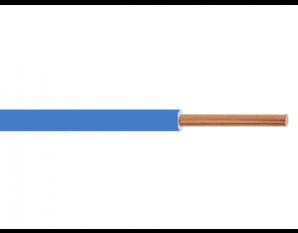 Fil HO7VU 2.5² bleu