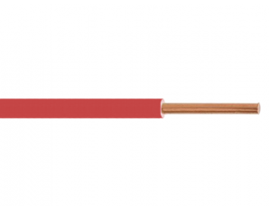 Fil H07VU 2.5² rouge