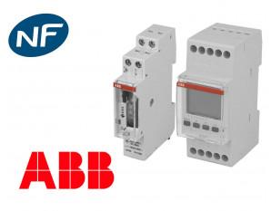 Horloge mécanique et électronique ABB