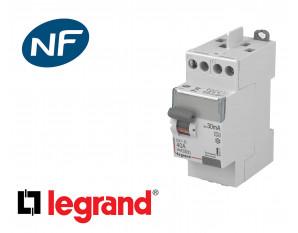 Interrupteur différentiel 2P à vis Legrand DX³