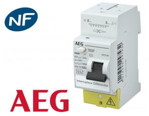 Interrupteur Différentiel 30mA AEG