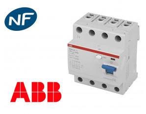 Interrupteur Différentiel triphasé ABB