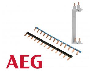 Peigne pour disjoncteur et interrupteur différentiel à vis & automatique AEG