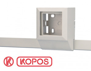 Moulure électrique PVC 20 x 10 mm