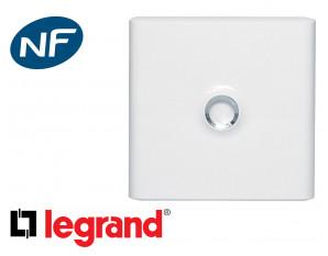 Porte blanche pour coffret 1 rangée Legrand Drivia