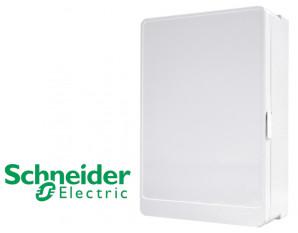 Porte opaque pour coffret 2 rangées Schneider Resi9