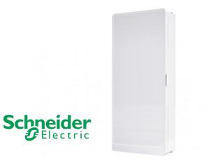 Porte opaque pour coffret 4 rangées Schneider Resi9