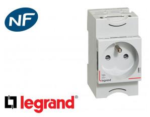 Prise de courant modulaire 2P+T 16A Legrand