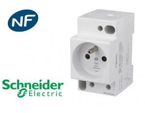 Prise de courant modulaire 2P+T 16A Schneider Resi9 XP