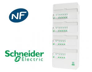 Tableau électrique précâblé avec système embrochable Resi9 XE Schneider