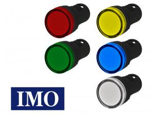 Voyant lumineux monobloc à LED IMO 24V / 230V