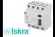 Interrupteur Différentiel 40A / 30mA / type AC / Tétrapolaire Iskra
