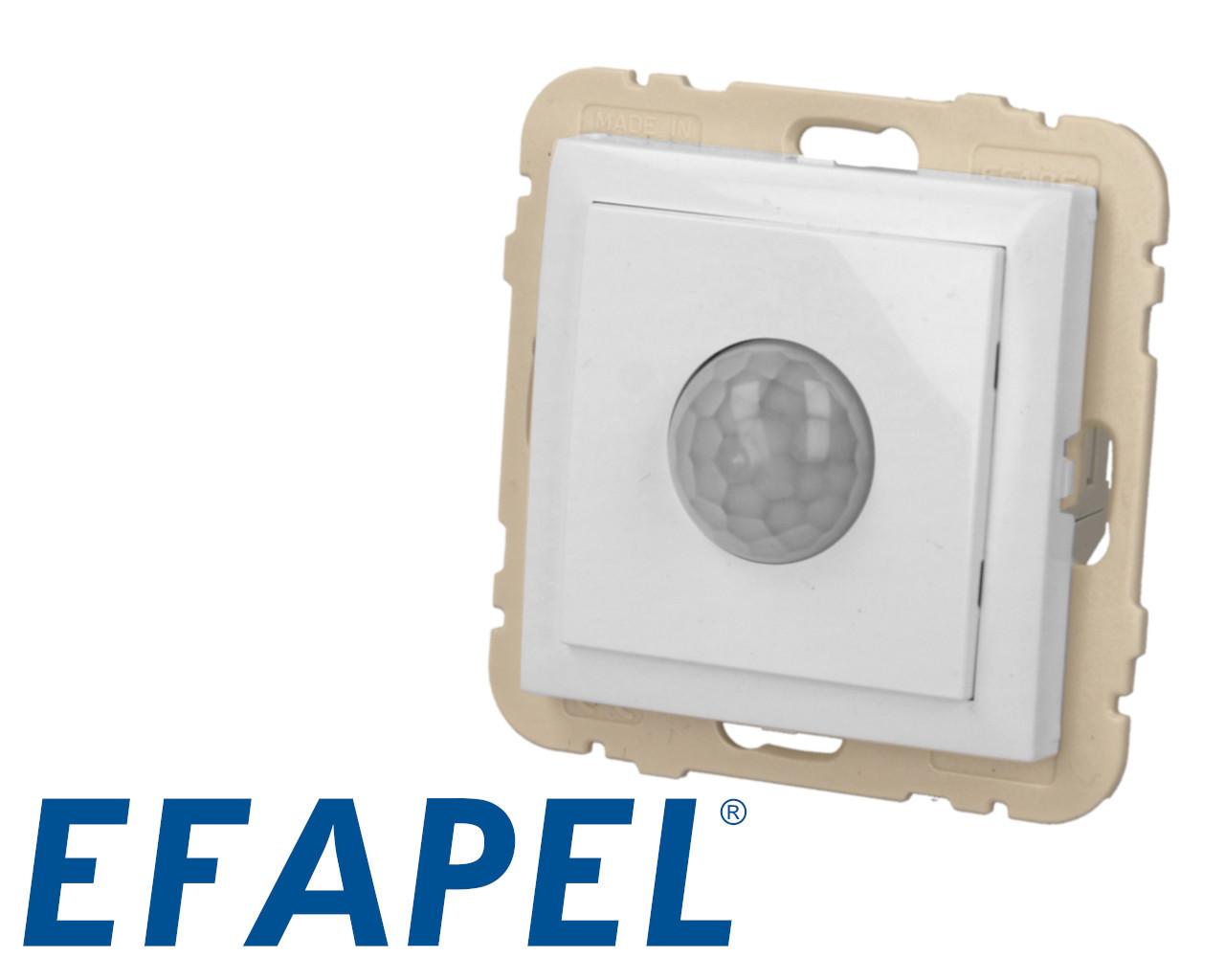 Interrupteur automatique avec détecteur de mouvement blanc Efapel Logus 90