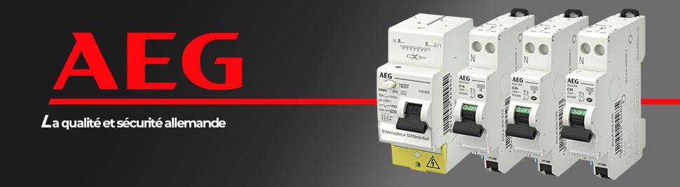 Retrouvez la gamme de modulaire AEG en vente sur bis-electric.com, votre distributeur de materiel electrique