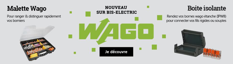 Retrouvez la malette wago et la boite de jonction isolante gel en vente sur bis-electric.com, votre distributeur de materiel electrique