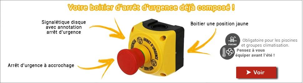 Votre bouton d'arrêt d'urgence déjà composé sur bis-electric.com