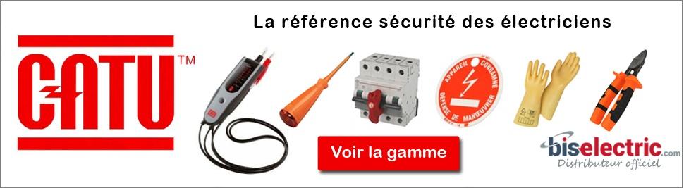 Découvrez notre gamme d'outillage Catu vendu sur bis-electric.com