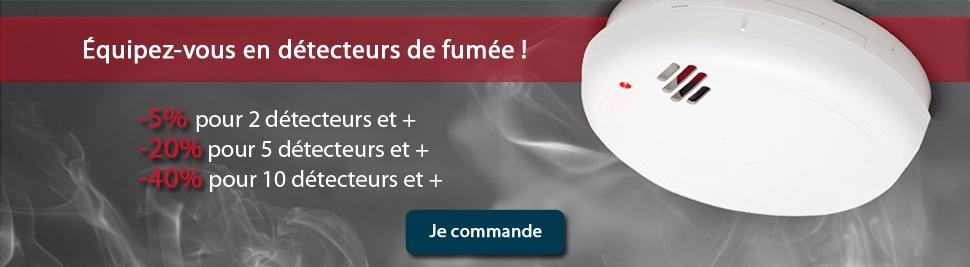 Découvrez notre gamme de détecteur de fumée en promotion sur bis-electric.com