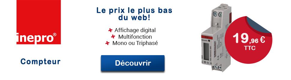 Découvrez notre gamme de sous compteur Inepro en vente sur bis-electric.com, votre distributeur de materiel electrique