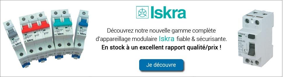 Découvrez notre nouvelle gamme de protection modulaire ISKRA sur bis-electric.com