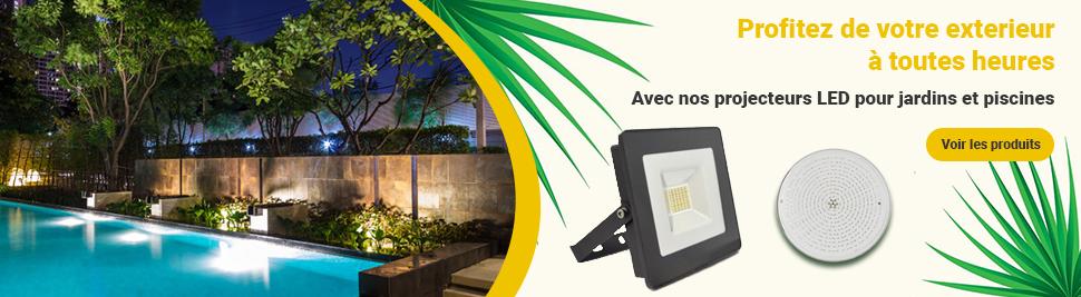 Eclairage extérieur étanche en ventes sur bis-electric.com, votre distributeur de materiel electrique