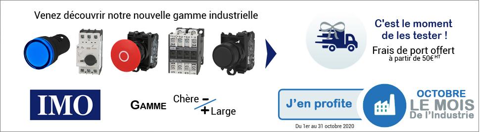 Octobre mois de l'industrie sur bis-electric.com, votre distributeur de materiel electrique