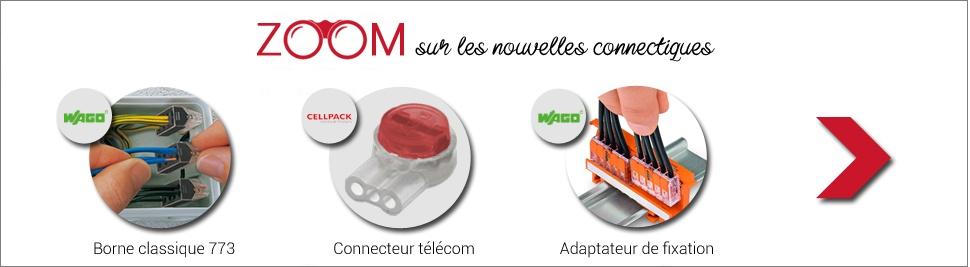 Zoom sur notre nouvel arrivage de connectiques rapides sur bis-electric.com