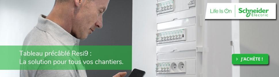 Découvrez notre nouvelle gamme de tableaux électrique précâblé XE Schneider Electric sur bis-electric.com : coffret prééquipé Schneider